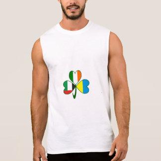 Camiseta Sin Mangas Trébol de los UAE Ucrania Irlanda