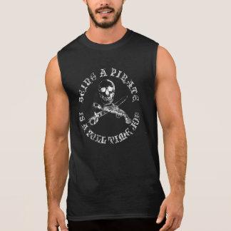 Camiseta Sin Mangas Una vida fulltimeSKULLSHIRT_4 de los piratas