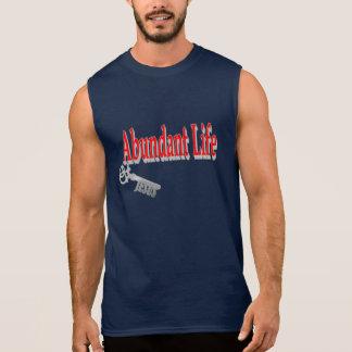 Camiseta Sin Mangas Vida abundante: La llave - v1 (Juan 10: 10)