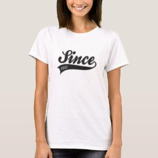 Camiseta since1981 - cumpleaños