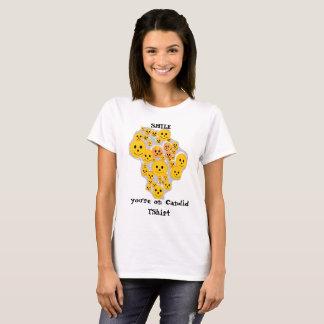 Camiseta sincera de los smiley