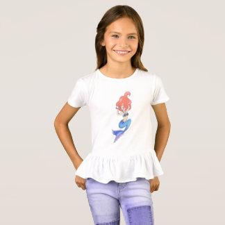 Camiseta Sirena azul de la cola