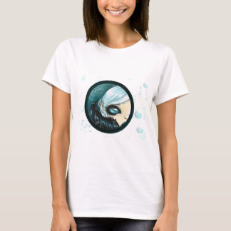 Camiseta Sirena de la burbuja del trullo
