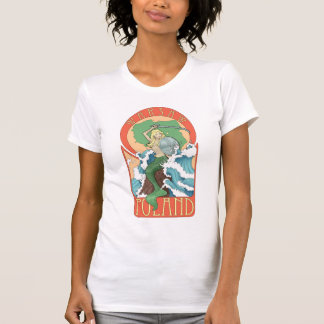 Camiseta Sirena de Polonia Varsovia