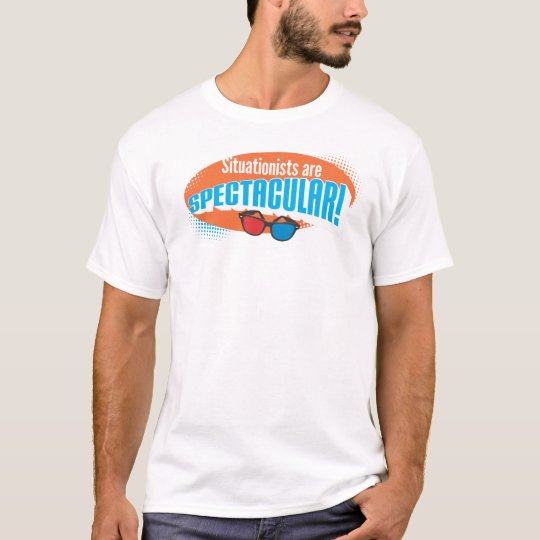 Camiseta ¡Situationists es espectacular!