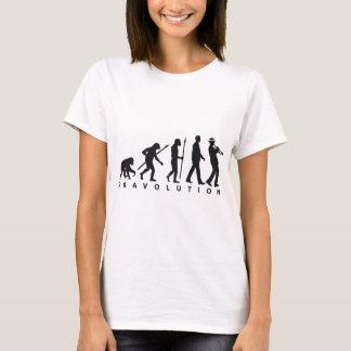 Camiseta ska evolution of usted trumpet player