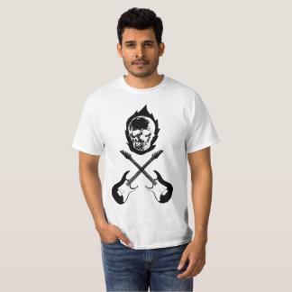 Camiseta Skull Guitar