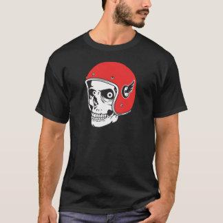 Camiseta ☞ Skullracer motorcycle helmet