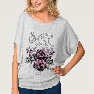 Camiseta Skull's Flowers
