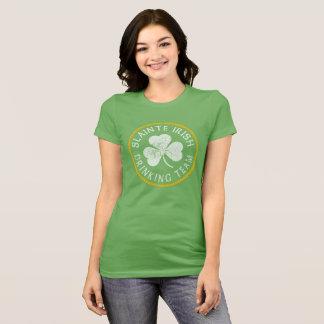 Camiseta Slainte equipo de consumición del irlandés