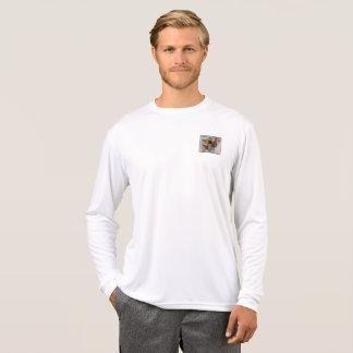 Camiseta SleeveTee largo de los hombres de la semana de la