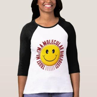 Camiseta Smiley de la confianza del biólogo molecular