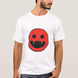 Camiseta Smiley del vampiro