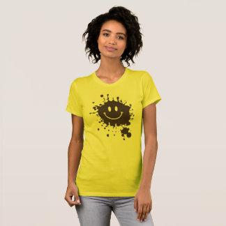 Camiseta Smiley Forrest Gump del fango