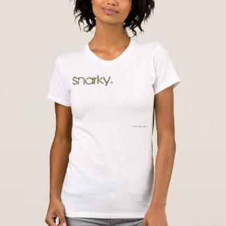 Camiseta snarky. (top)