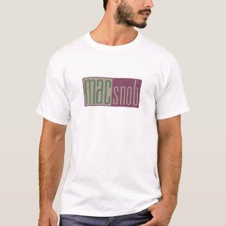 Camiseta snob del mac