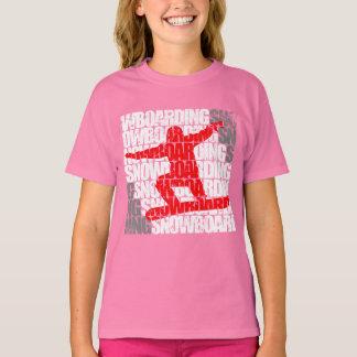 Camiseta Snowboard #1 (blanca)