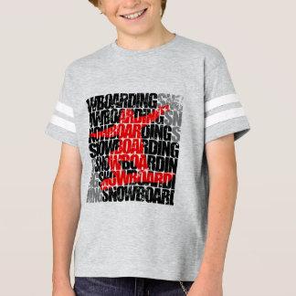Camiseta Snowboard #1 (negro)