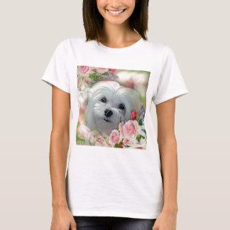 Camiseta Snowdrop el maltés