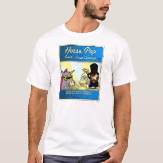 Camiseta Sobre todo estallido inofensivo del caballo