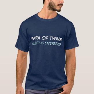 Camiseta SOBRESTIMAN a la papá del SUEÑO de los gemelos