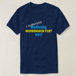 """Camiseta """"Sobreviví"""" acontecimiento o la reunión"""