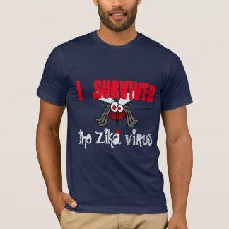 """Camiseta """"Sobreviví el virus de Zika"""" con el mosquito"""
