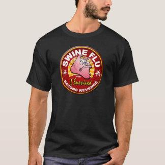 Camiseta Sobreviví la gripe de los cerdos - H1N1