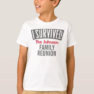 Camiseta Sobreviví - reunión de familia - la personalizo