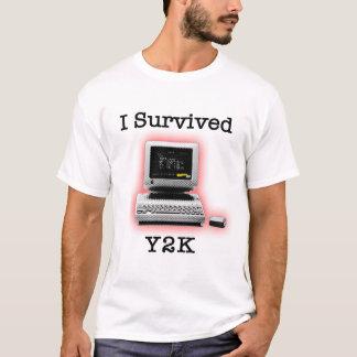 Camiseta Sobreviví Y2K