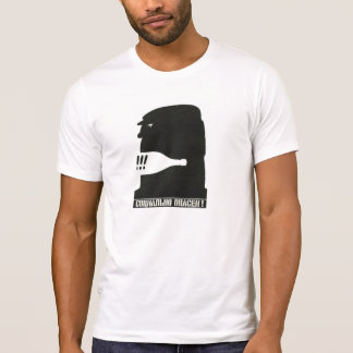 Camiseta social peligrosa (vintage ruso)