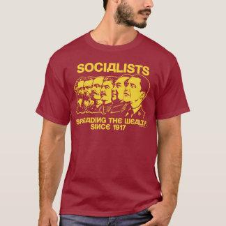 Camiseta Socialistas: Extensión de la riqueza