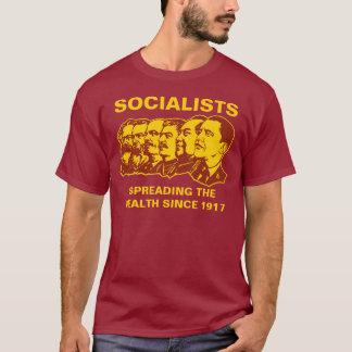 Camiseta Socialistas: ¡Extensión del personalizable de la