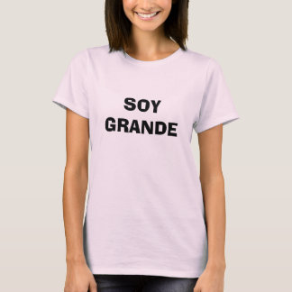 Camiseta Soja grande