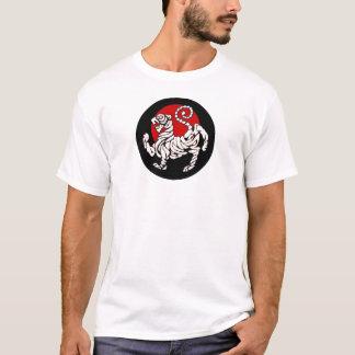 Camiseta Sol naciente del tigre de Shotokan