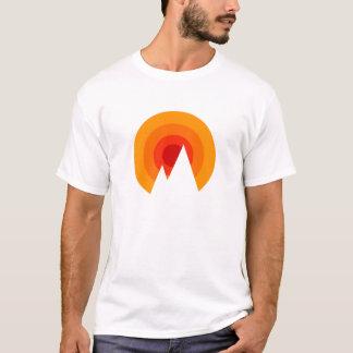 Camiseta Sol y montañas