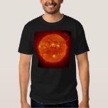 Camiseta solar de la prominencia