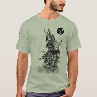 Camiseta solitaria del samurai