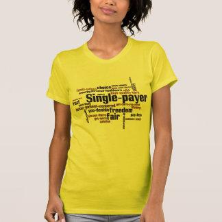 Camiseta Solo-pagador de la nube de la palabra