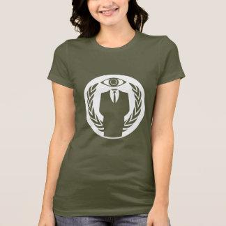 Camiseta Somos anónimos con el ojo