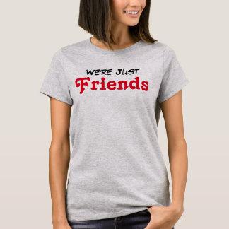 Camiseta Somos apenas amigos