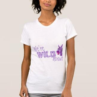 Camiseta ¡Somos SALVAJES sobre la distribución del cuidado!