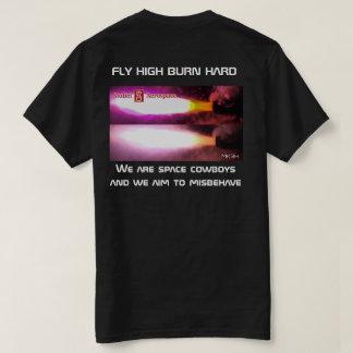 Camiseta Somos vaqueros del espacio y apuntamos comportarse