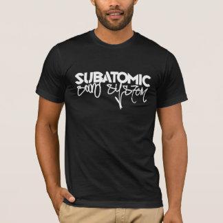 Camiseta Sonido subatómico de /Subatomic del sistema de