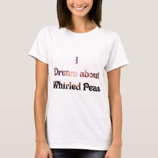 Camiseta Soño sobre los guisantes girados
