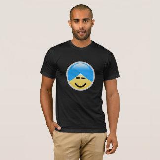Camiseta sonriente americana sikh de Emoji del
