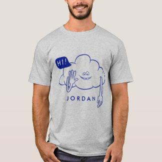Camiseta Sonrisa del individuo de la nube de los duendes el