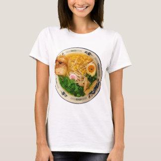 Camiseta Sopa de fideos de los Ramen del cerdo