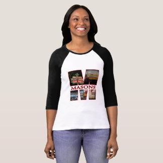 Camiseta Soporte de la cerveza de raíz de los albañiles