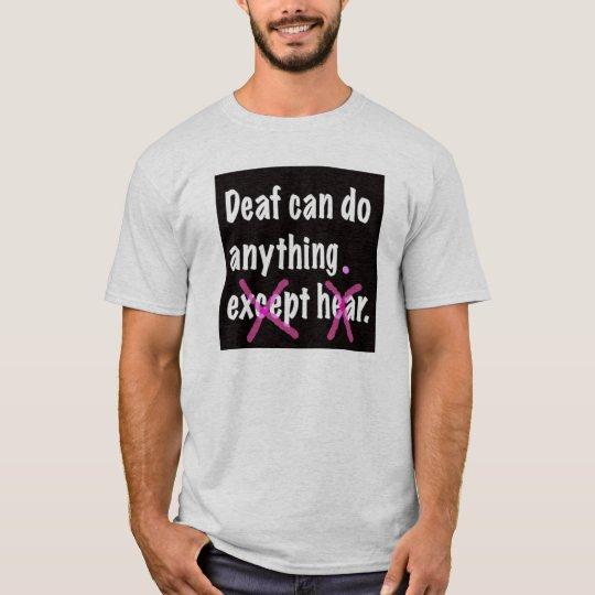 Camiseta Sordo puede hacer cualquier cosa